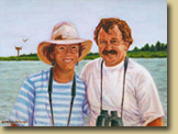 Portrait of Pat and Clay Sutton