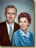 Portrait of Lee and Pat Robbins